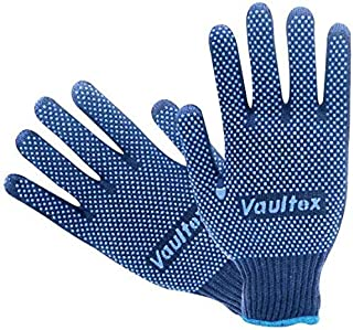 Double Side Dotted Gloves (VS91) - Vaultex (20 Doz)