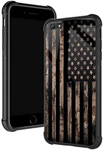 iPhone 6s Plus Case Flag Desert Camo Khaki iPhone 6 Plus Cases for Boys Men Fashoin Design Four product image