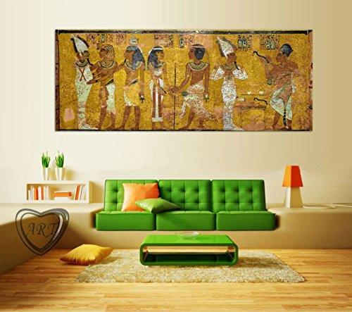 Egyptian Decor Canvas Painting Oil Painting Wall Pictures For Living Room Wall Decor Large Canvas Art no framed