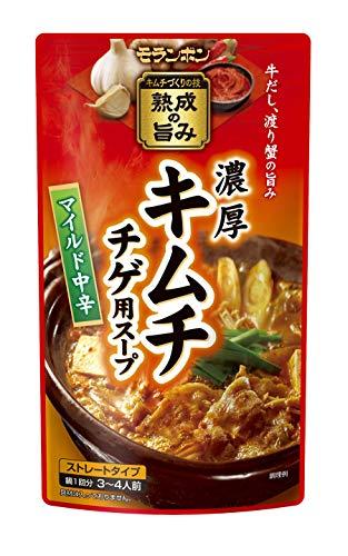 モランボン『キムチチゲ用スープ マイルド中辛』