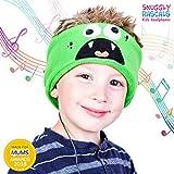 Snuggly Rascals (v.2) Auriculares para niños, Modelo de algodón. - Monstruo