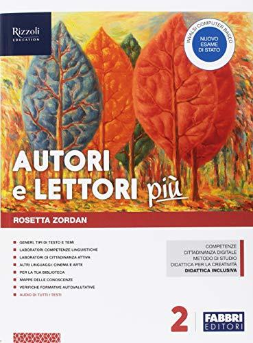 Autori e lettori più. Con Quaderno e Letteratura. Per la Scuola media. Con ebook. Con espansione online. Con DVD-ROM (Vol. 2)
