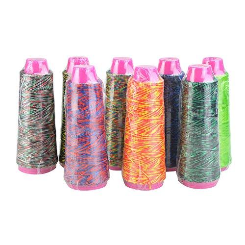 SHARROW Bogenschnur Material Bogensehne Sehnengarn 110m Bowstring Material (Color 5)
