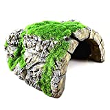 Betta Rock Cave, Fish Hideout for Shelter, Resting, Sleeping, Swimming, Natural-Looking Cave with...
