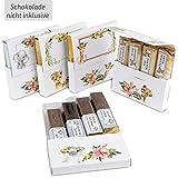 Netti Li Jae  Aufkleberset für Merci-Schokolade: Das persönliche Dankeschön & kreative Geschenk – für 5 personalisierte Geschenke – persönliche Geschenkidee (Für Kinder)