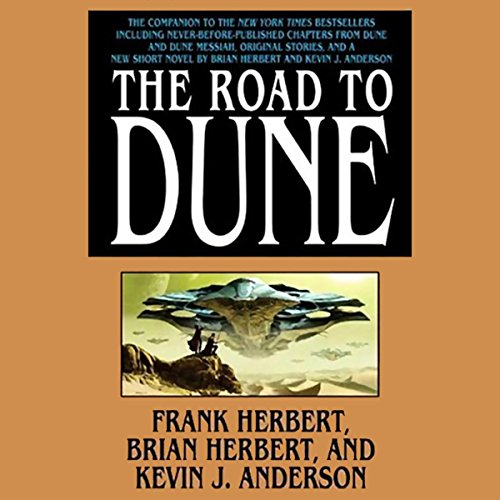 The Road to Dune audiobook cover art