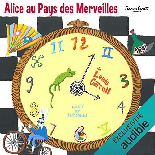 Alice au Pays des Merveilles audiobook cover art