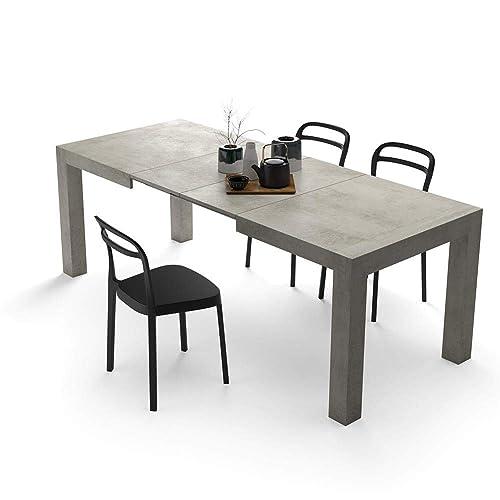 Tavolo Allungabile Per 14 Persone.Tavolo Moderno Allungabile Amazon It