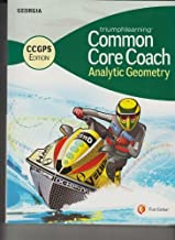 Triumphlearning Common Core Coach - Analytic Geometry -Georgia CCGPS Edition
