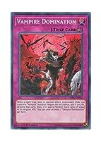 遊戯王 英語版 DASA-EN011 Vampire Domination ヴァンパイアの支配 (シークレットレア) 1st Edition