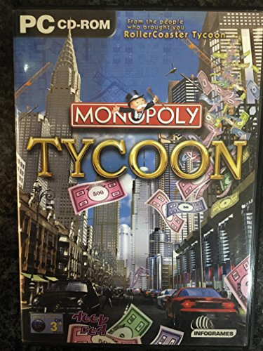 Monopoly Tycoon, PC cd-rom vídeo juego