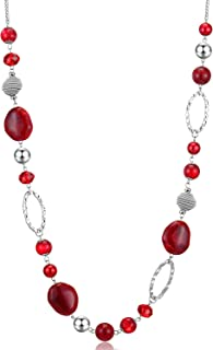 BULINLIN Beaded Strand Pearl Choker Necklace - Fashion Jewelry Birthday Gifts for Women