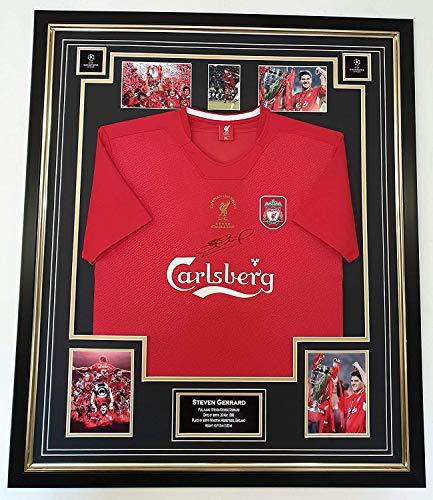 www.signedmemorabiliashop.co.uk Steven Gerrard Trikot Istanbul, signiert