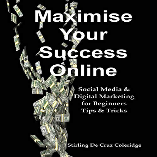Maximise Your Success Online: Social Media & Digital Marketing for Beginners Tips & Tricks  audiobook cover art