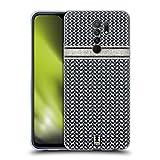 Head Case Designs Zigzag Adicto de Patrón Carcasa de Gel de Silicona Compatible con Xiaomi Redmi 9