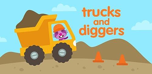 『サゴミニ トラック&ショベルカー』のトップ画像