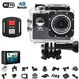 AUTOMATE 4K Sport Caméra d'action Ultra HD caméscope 16MP WiFi Caméra étanche...