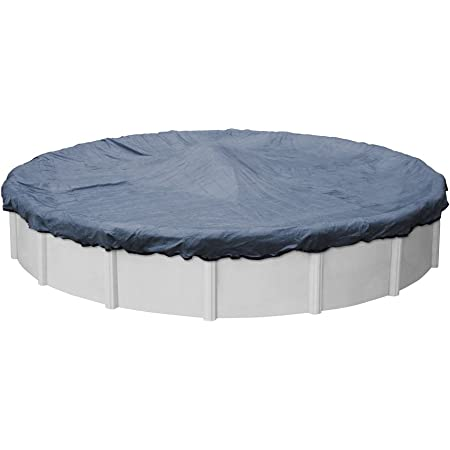 Amazon Com Robelle 4224 4 Premium Mesh Xl Blue Mesh Winter Pool Cover For Round Above Ground Swimming Pools 24 Ft Round Pool Garden Outdoor