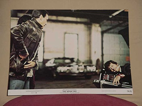 MOVIE POSTER: THE SEVEN UPS LOBBY CARD #2-20TH CENTURY FOX-VIOLENCE VG