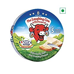 The Laughing Cow Cheese Round Box, 120gm