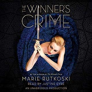 The Winner's Crime audiobook cover art