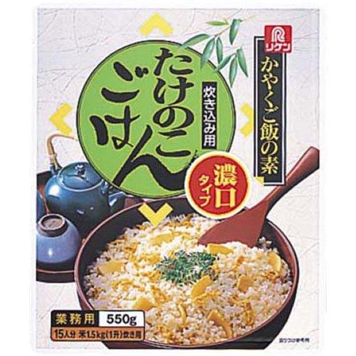 リケン かやくご飯の素 炊き込み用 たけのこごはん濃口タイプ 550g