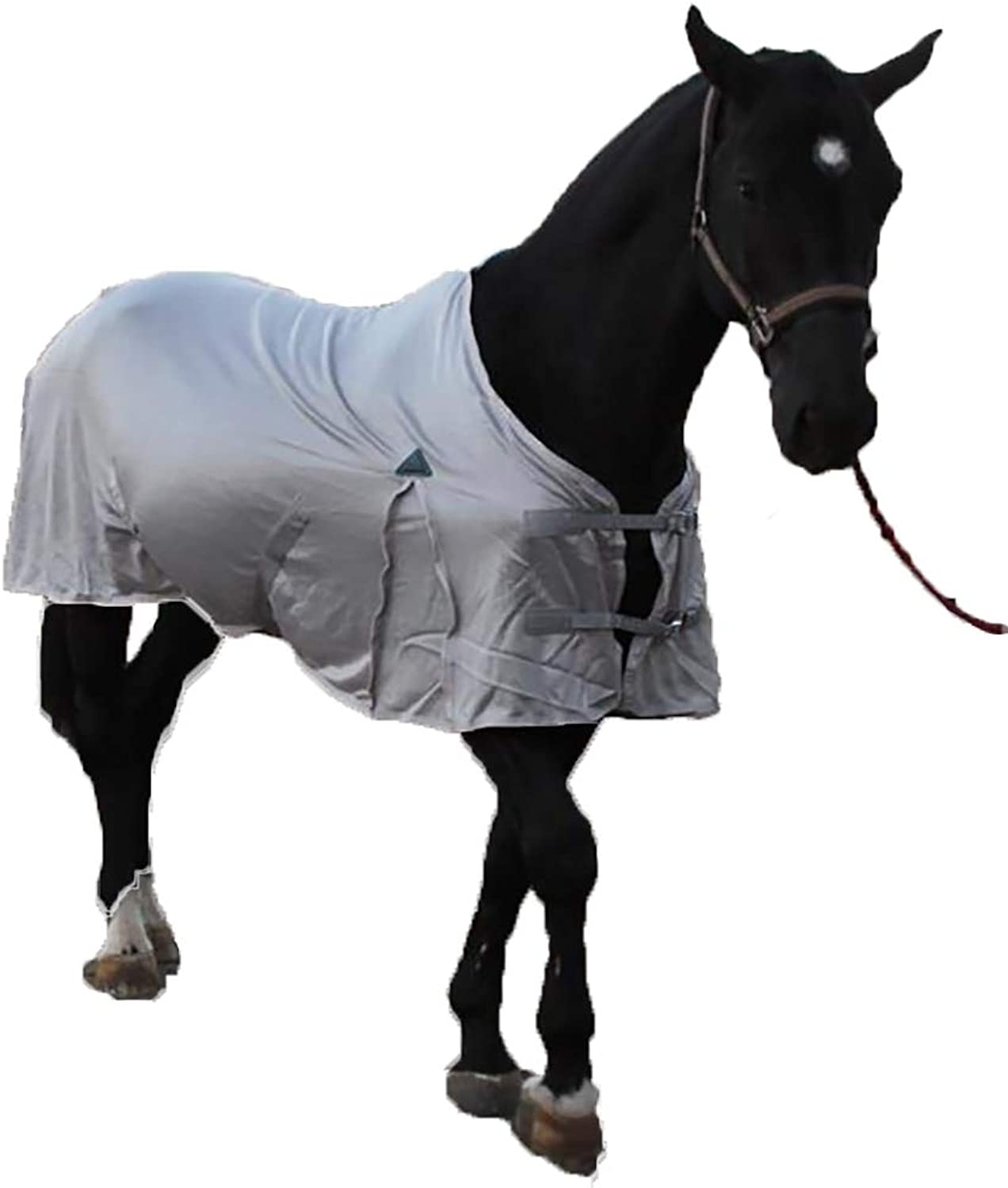 FXQIN Breathable Nylon Turnout Blanket Horse And Pony Sizes, Prevention Of Mosquitoes & Antitear Essential Standard Neck Lite
