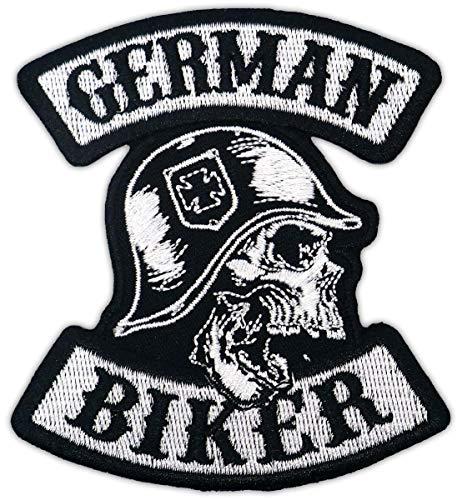 Aufnäher Aufbügler Patch German Biker