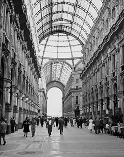 Galleria Vittorio Emanuele, Milan, Italy Poster Print (18 x 24)
