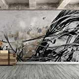 """Our wall murals are cut into 6 pieces for easy installation. Each individual piece is 100""""x24"""" (HEIGHT x WIDTH), with all 6 at a total size of 100""""x 144"""" (HEIGHT x WIDTH). Digitally printed on high quality material. Easy to apply, remove or repositio..."""