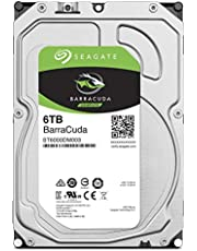Seagate BarraCuda 3.5インチ 6TB 内蔵ハードディスク HDD 2年保証 6Gb/s 256MB 5400rpm 正規代理店品 ST6000DM003/FFP