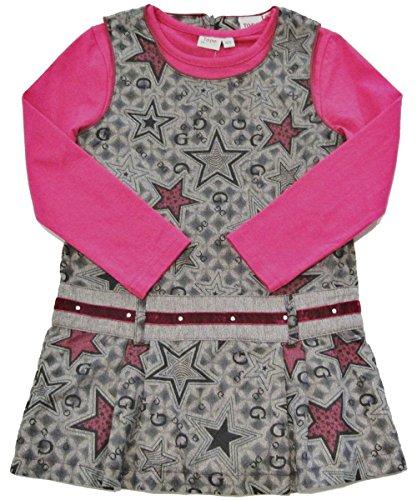 Topo in Fashion, 2 teiliiges festliches Set, Kleid mit Langarmshirt (104)