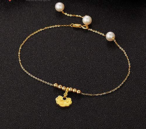 Hot sale Puur Geel goud O Ketting Armband Hoge Kwaliteit armband armband, China puur goud armband