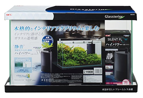 ジェックス グラステリアサイレント600ST 静音フィルター付
