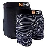 Farah - Boxer a Rayas para Hombre sin Presion | Calzoncillos...
