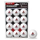 Joola Pelotas de Ping Pong para Adultos, Unisex, Tournament 40+, Color...