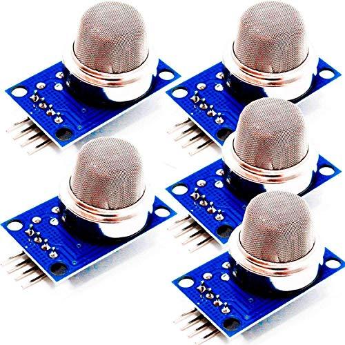 AZDelivery 5 x MQ-135 Gas Sensor Luftqualität Modul für Arduino mit gratis eBook!
