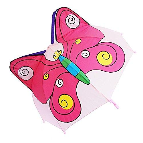 Kiddi Choice 3D PopUp Butterfly Cute Umbrella, Purple/Pink by Kiddi Choice