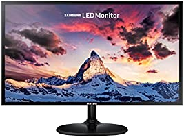 "SAMSUNG S24F350 Ecran PC, Dalle PLS 24"", Résolution Full HD (1920 x 1080), 60 Hz, 4ms, AMD Freesync, Noir"