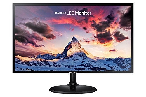 "Samsung Monitor S24F350 Monitor 24"" Full HD, 1920 x 1080, 60 Hz, 5 ms, D-Sub, HDMI, Pannello PLS, Nero"