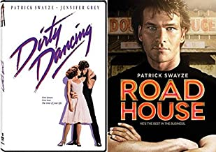 Dirty Dancing & Road House Patrick Swayze Collection DVD classic 80's Movie Set