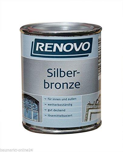 Metallglanzfarbe 125 ml Silberbronze Renovo