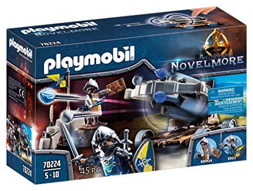 PLAYMOBIL Novelmore 70224 Geniale Wasserballiste, Für Kinder von 5-10 Jahren