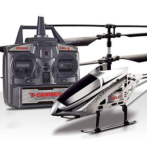 YAMMY Nueva versión Helicóptero Radio Control Remoto Inducción infrarroja Luz Intermitente Aeronaves Juguetes Resistencia a la caída del avión A (automóvil Inteligente)