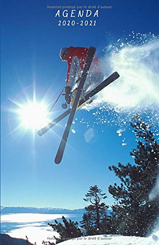 Agenda 2020 2021: Agenda Scolaire Journalier | Thème du Ski