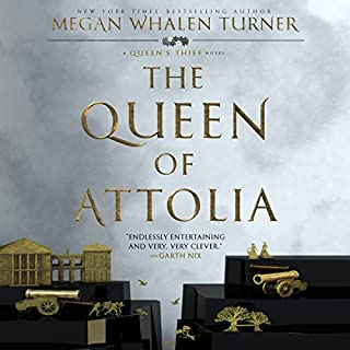 The Queen of Attolia audiobook cover art