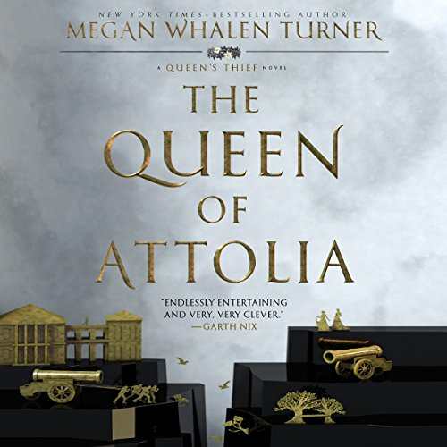 『The Queen of Attolia』のカバーアート