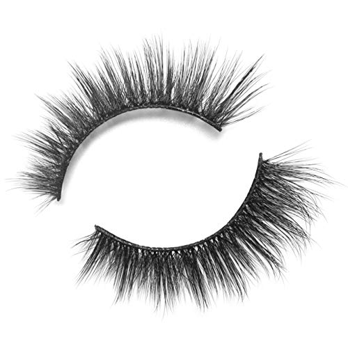 BEPHOLAN False Lashes | 0.05 Thickness Synthetic Fiber Material| 3D Faux Mink Lashes| Natural Look| 100% Handmade% Cruelty-Free| Reusable| Easy to Apply| 1 Pair| XMZ88