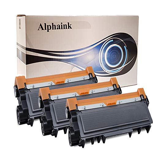 3 Toner Alphaink Compatibile con Brother TN-2320 XL versione da 5000 (VERSIONE XL) copie per stampanti Brother DCP-L2500 2520 2540 2560 2700 HL-L2300 2320 2321 2340DW 2360DW 2700DW 2720DW 2740DW