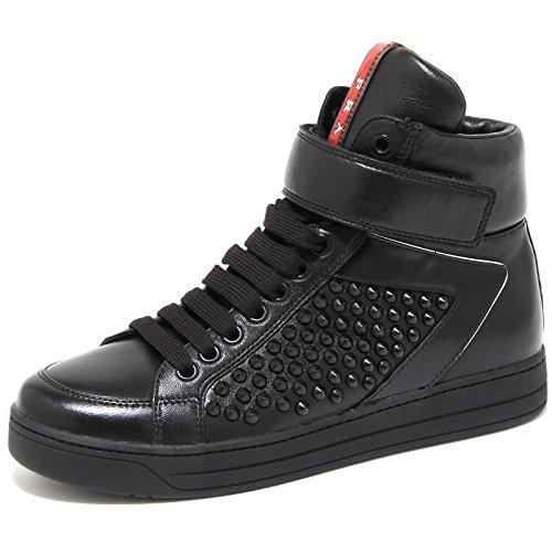 Prada 3086G Sneaker Donna nera Sport Nappa Scarpa Shoes Women [37.5]